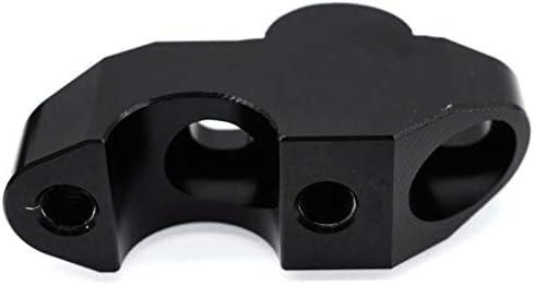 color negro Huante Elevador universal para manillar de motocicleta de 22 mm