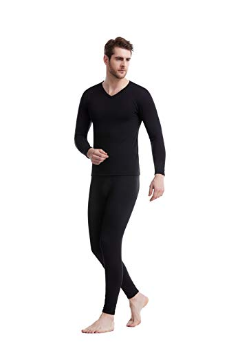 Shiney Mens Thermals? Where's the waffle print?