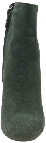 Bianco Dress Dark Vert Green 551 Effect Femme Bottines Boot rrzdqOwf