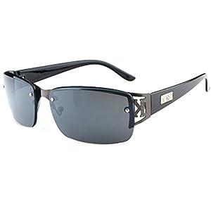 MosierBizne The New Chauffeur-Driven Metal Leisure Square Sunglasses Fishing Mirror