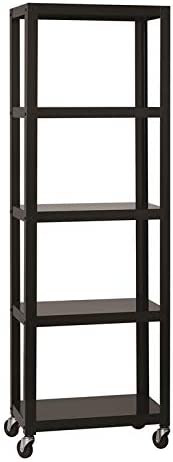 Space Solutions Home Office Collection Mobile Metal Bookcase