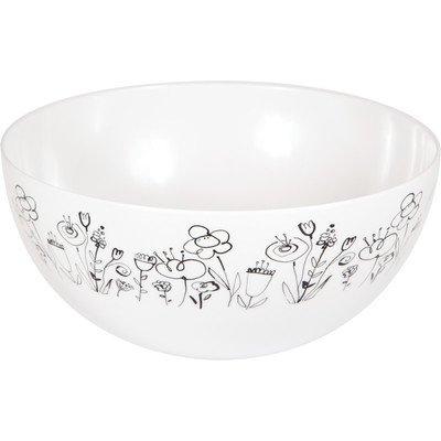 Melamine Mod Blooms Bowl -