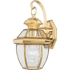Brass Outdoor Light - 2