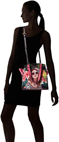 fbebebd2e7 Nicole Lee Women s Adeen Smart Lunch Handbag Vol. 2 (Vacation Girl in  Paradise) Travel Shoulder Bag
