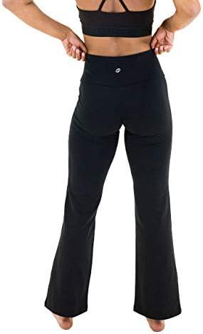 Spalding Activewear Pantalón de Yoga de Talle Alto Pantalones para Yoga para Mujer 4