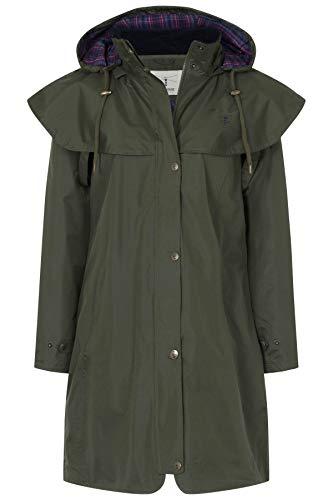 3 LightHouse Raincoat Women's Waterproof Fern 4 Outrider Length rExrnqPf