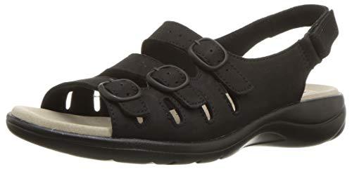 CLARKS 女士真皮凉鞋,专利OrthoLite鞋垫缓震出色