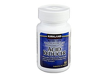 Kirkland Signature Acid Reducer Ranitidine 150mg - Each Bottle 95 Tablets (1 Bottle)