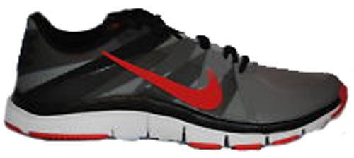 Nike Men's Free Trainer 5.0 Running Shoes-CL GREY/UNIVERSITY RD/BLK/DRK GRY-11.5
