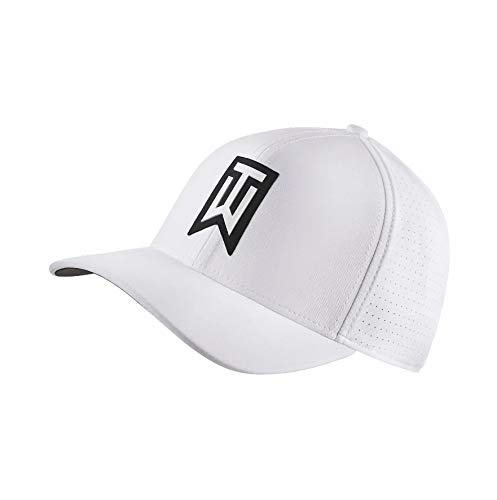 Nike TW AeroBill Classic 99 Performance Golf Cap 2018 White/Anthracite/White Large/X-Large