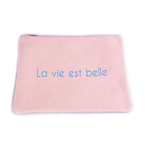 Rose Grande Belle est Vie La Daim Coindesfilles pâle Aspect Pochette 6nw4n78t