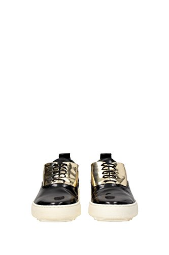 ABLDML041 Philippe Model Sneakers Mujer Piel Negro Negro