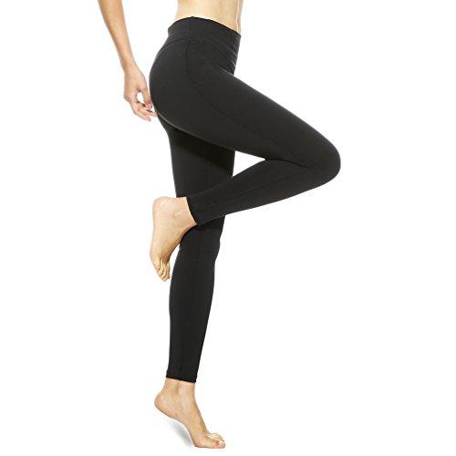 Schwarz Sport Outdoor Lang Indoor Pantalon Mesh 4ucycling Fitness Jogging Mit Damen Workout Long Yoga Leggings q7vaat