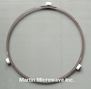 Ge microwave oven roller wheel turntable support rotating ring wb06x10001 home - Kitchenaid microwave turntable replacement ...