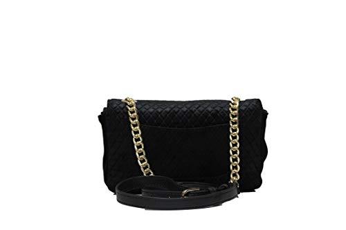 Efecto Anchise Rbbs2s401 Rocco Mujer Negro Barocco Velvet Bolsa cqSq5EYw