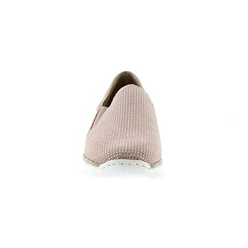 Rieker Melgar Womens Casual Shoes Pink best place online YpQqV4rNtk