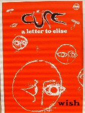 Cure A Letter To Elise 96x133 cm Poster Amazon