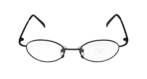 New & Season & Genuine - Brand Paolo Gucci Stylemodel 7428r Gender MensWomens Rxable Affordable Oval Full-rim EyeglassesEyeglass Frame (48-19-140 Black)