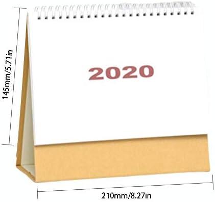 Supertop 2020 Tischkalender Einfacher Stil Kalender Tischkalender