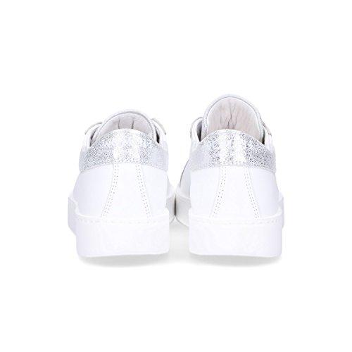 WOMSH Damen C180903 Weiss Leder Sneakers