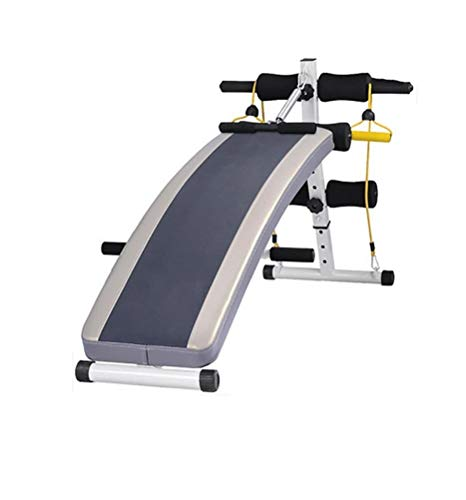 Folding Adjustable Ab Abs Sit Up Bench Abdominal Crunch Board/SitUp Exercise Sit-ups Sit-ups Fitness Equipment Home Multi-Function Abdomen (Best Crunches For Abs)
