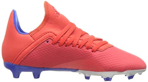 adidas X 18.3 Firm Ground, Active red/Silver Metallic/Bold Blue 13K M US Little Kid by adidas (Image #10)