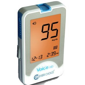 Clever Choice Voice+ Talking Glucose Meter