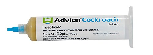Advion Syngenta Cockroach Gel Bait AyBHfC, 5 Boxes of 4 tubes (20 Tubes Total)