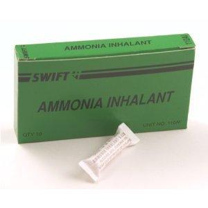 Inhalation d'ammoniac 33 cc 10 par boîte