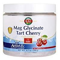 KAL Magnesium Glycinate Activmix, Tart Cherry, White, 8.7 Ounce ()