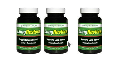 LungRestore | Respiratory Support Formula All-Natural Lung Supplement Addresses Breathing Issues Like Asthma, Allergy & Bronchitis Herbal Lung Cleanse Promotes Healthy Lungs |90 Day Supply by Hampshire Labs