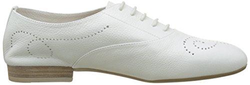 Unisa Digi_cev, Zapatos de Cordones Oxford para Mujer Blanco (White)