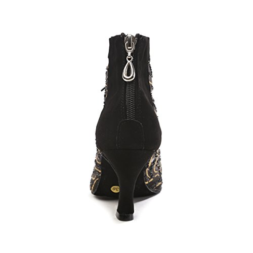Heel de Minitoo Salon Danse femme 7 Black 5cm qxSZTx8R