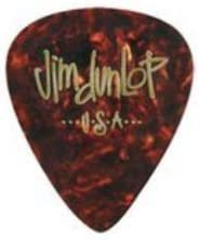 Dunlop Guitar Picks Teardrop Classic Celluloid Heavy Shell 12 Pack