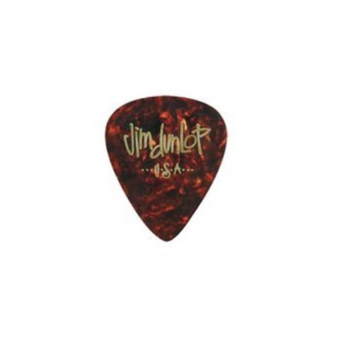 Dunlop 483R05HV Shell Classic Celluloid Heavy Guitar Picks, 72-Pack