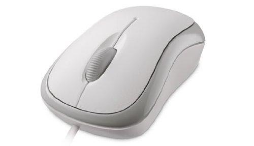 Microsoft L2 Basic Optical Mouse for Mac/Win USB Port EN/XC/XD/XX Hardware - White (P58-00064) (L2 Wheel)