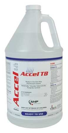 Cleaner and Disinfectant, Bottle, PK4