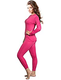 Amazon.com: Pink - Thermal Underwear / Lingerie, Sleep & Lounge ...