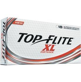 Top Flite XL Distance Golf Balls White (18)
