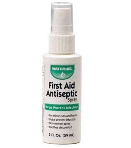 Waterjel MS60955 First Aid Antiseptic Pump Spray, 2 oz Bottle (6)