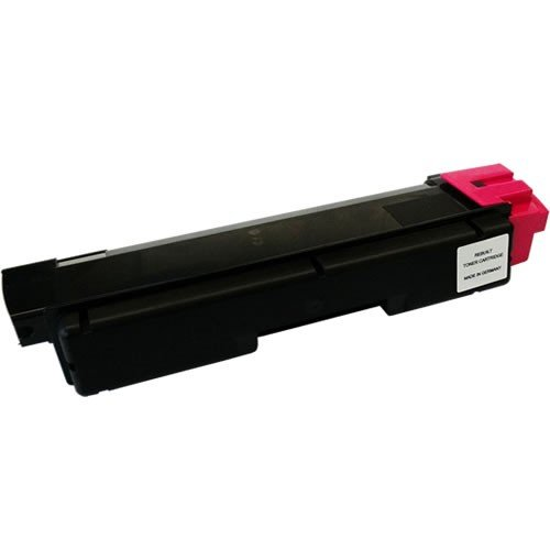 Do It Wiser Compatible Toner Cartridge Replacement for Kyocera FS-C5250DN, FS-C2126MFP+, FS-C2026MFP+, FS-C2626MFP, FS-C2526MFP - TK-592M - (Magenta - 5,000 Pages)