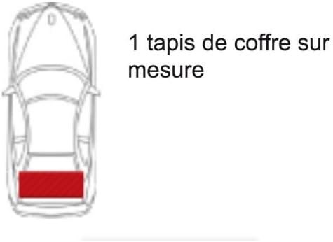 1 Tapis de coffre GRIS Gamme Tapis ELEGANCE Tapis Z4 Coup/é E85 du 01.04 au 03.09 sur mesure