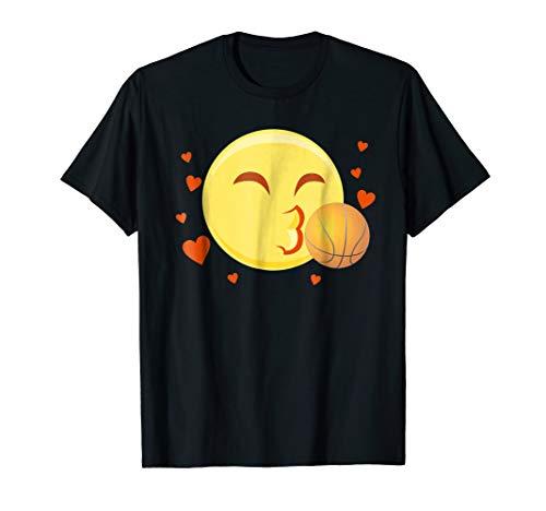 I Love Basketball Emoji Shirt Outfit Basketball Lover Gifts