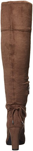 Franco Sarto Women's L-Ivanea Slouch Boot Taupe D1sCTsnQ