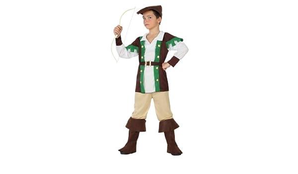 Atosa - Disfraz de arquero para niño, talla 7-9 años (70124 ...
