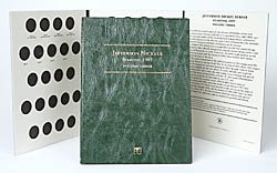 Littleton LCF26 1997-2008 Jefferson Nickel Folder, Volume - Jefferson Nickel Mintage