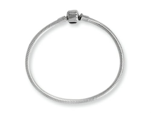 Reflections Sterling Silver SimStars Clasp Bead Bracelet 7.00 -