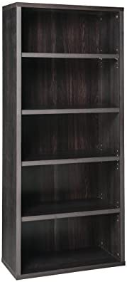 ClosetMaid 13508 Decorative 5-Shelf Unit, Black Walnut