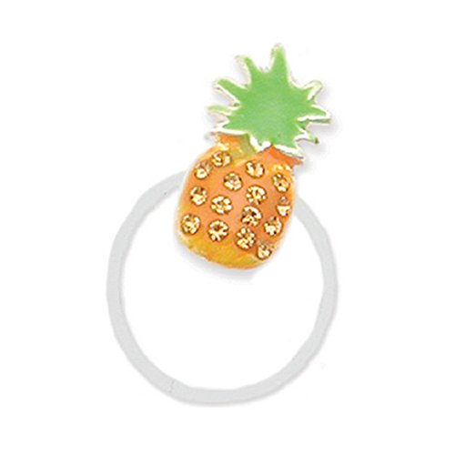 Pave Pineapple Illusion Toe Ring ()