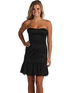 Bcbg Strapless Black Dress (BCBGMAXAZRIA BCBG Black Bodice Dress (0 Apparel))